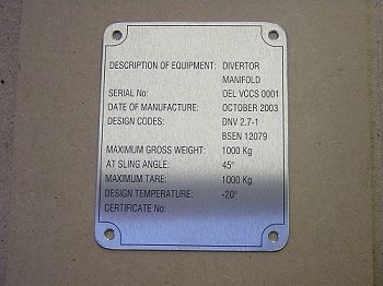 Stainless Steel Plates & Tags